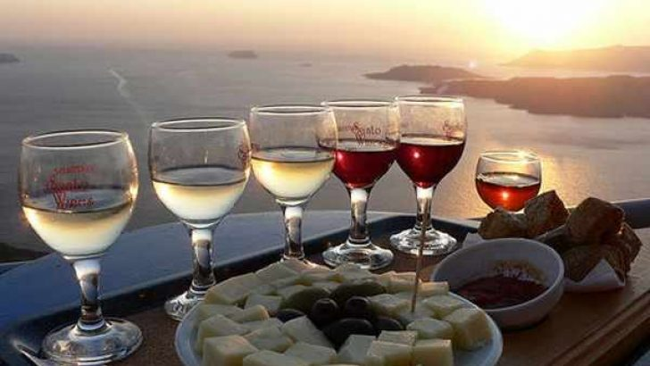 Santorini Theraian Winery ve Sunset Tur