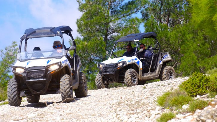 Rhodes North: Off-Road Macerası