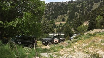 Hanya'dan: White Mountains Land Rover Safari